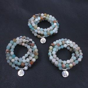 Jewelry - New Amazonite Mala Necklace/Bracelet